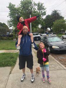 Kyle Neptune-Salisbury - Neptune-Salisbury Family with Dad